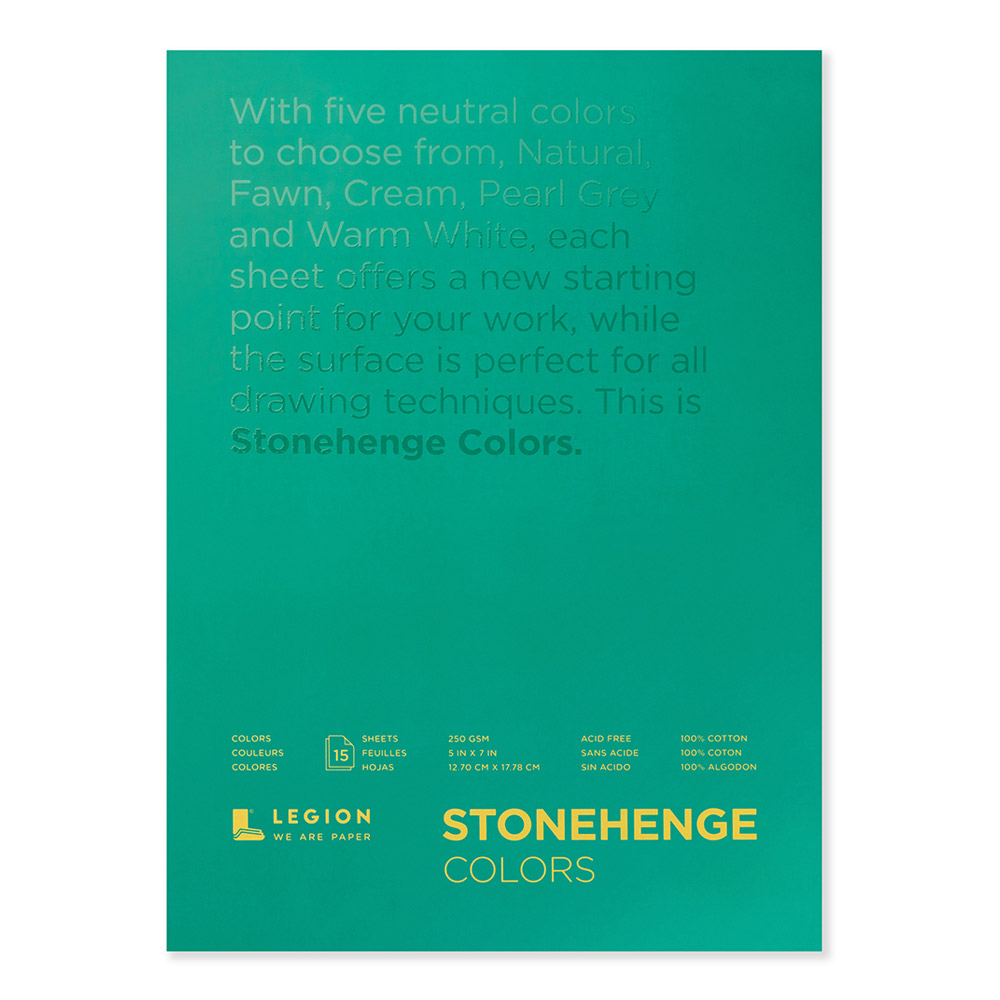 Stonehenge Pad Multicolor 5X7 15 Sheets