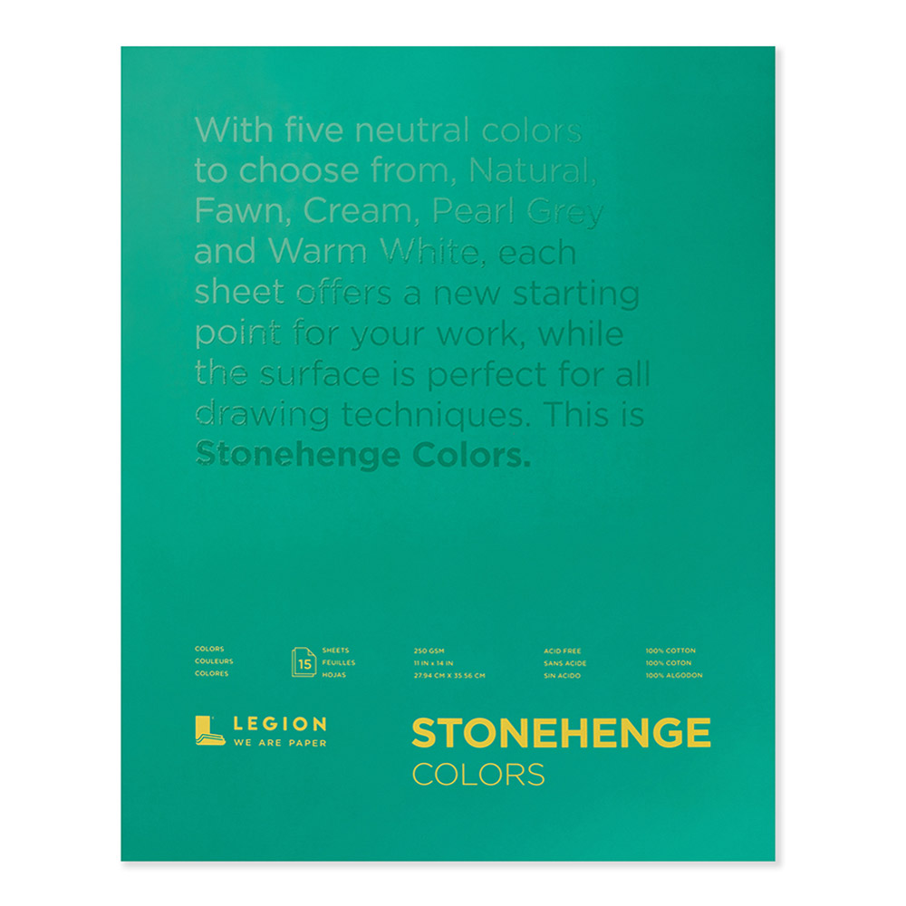 Stonehenge Pad Multicolor 11X14 15 Sheets
