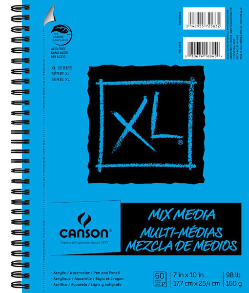 Canson Xl Mix Media Pad 7X10