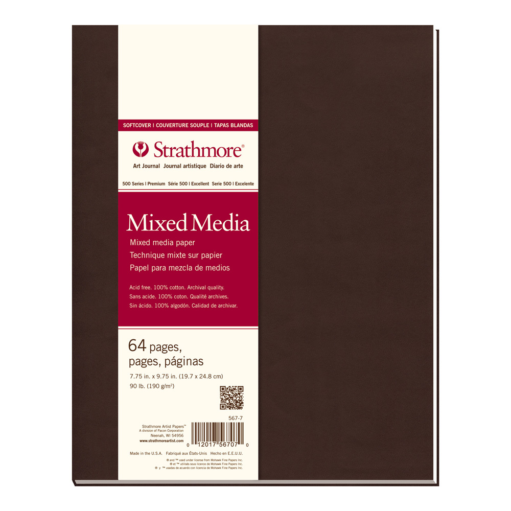 Strathmore 400 Softcover Mixed Med 7.75X9.75