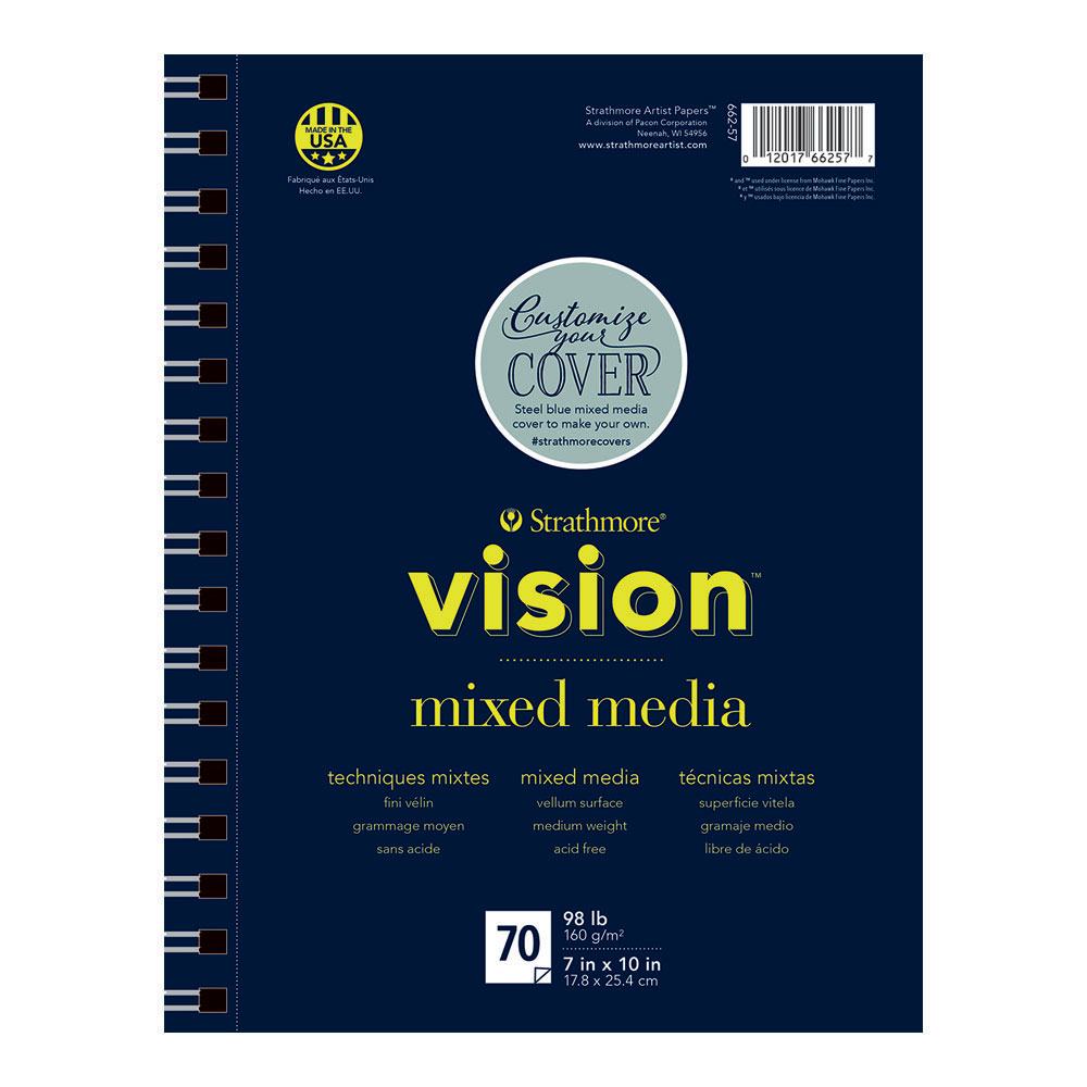 Strathmore Vision Custom Mixed Media Pad 7x10