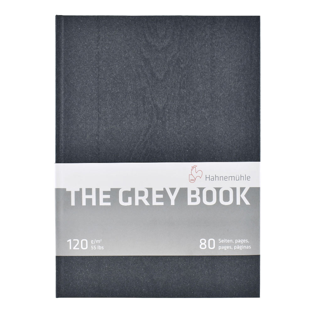 Hahnemuhle Grey Book Sketch Book A4
