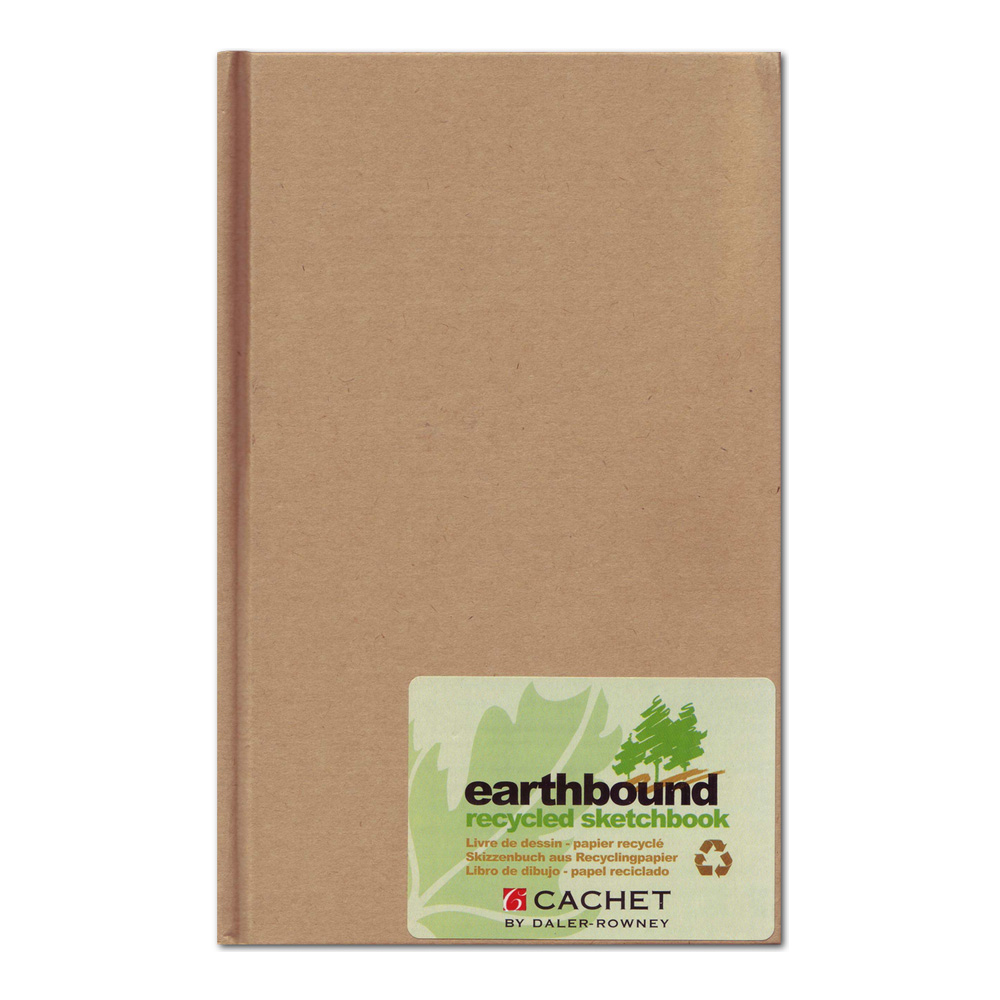 Cachet Earthbound Recycled Sketch Book 5X8