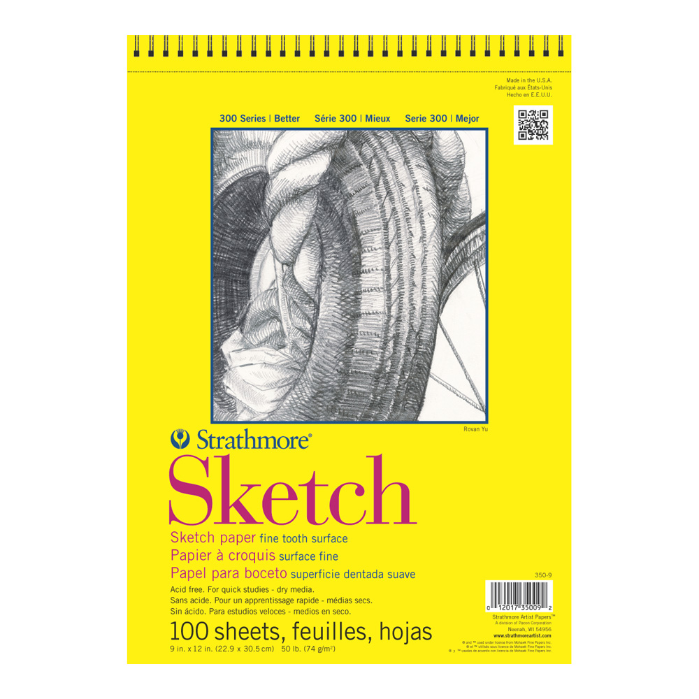 Strathmore 300 Taped Sketch Pad 11X14