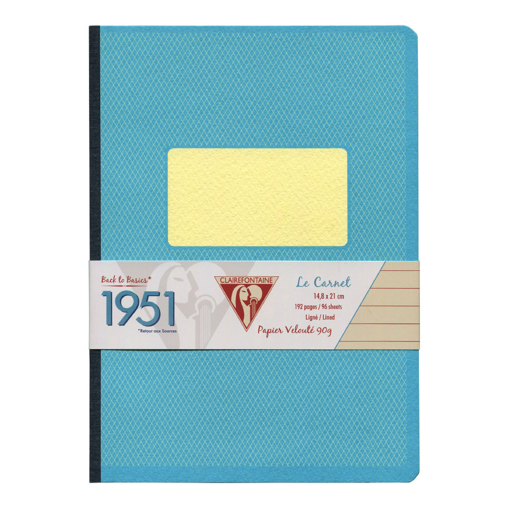 Clairefontaine Clothbound Notebook Turquoise