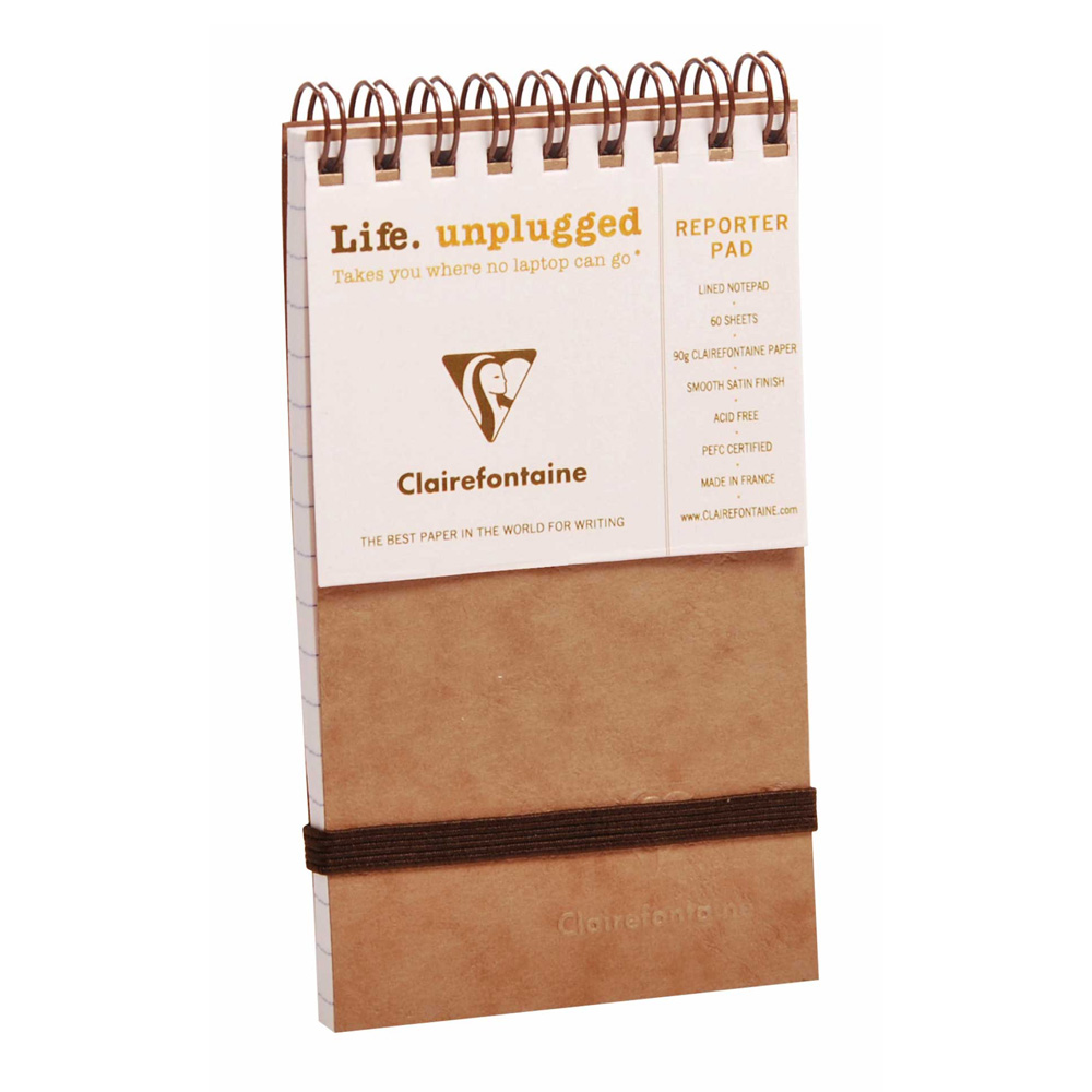 Clairefontaine Reporter Tan 3X5 Lined