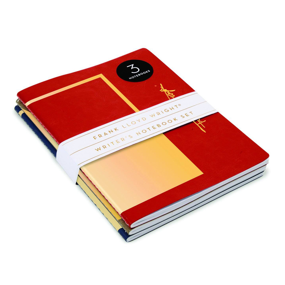 Writer's Notebook Set/3: Frank Lloyd Wright