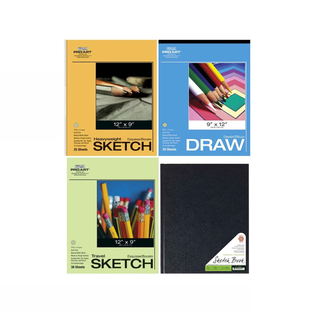Pro Art Sketch Paper Value Pack