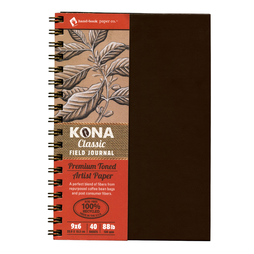 Kona Classic Field Journal 9X6