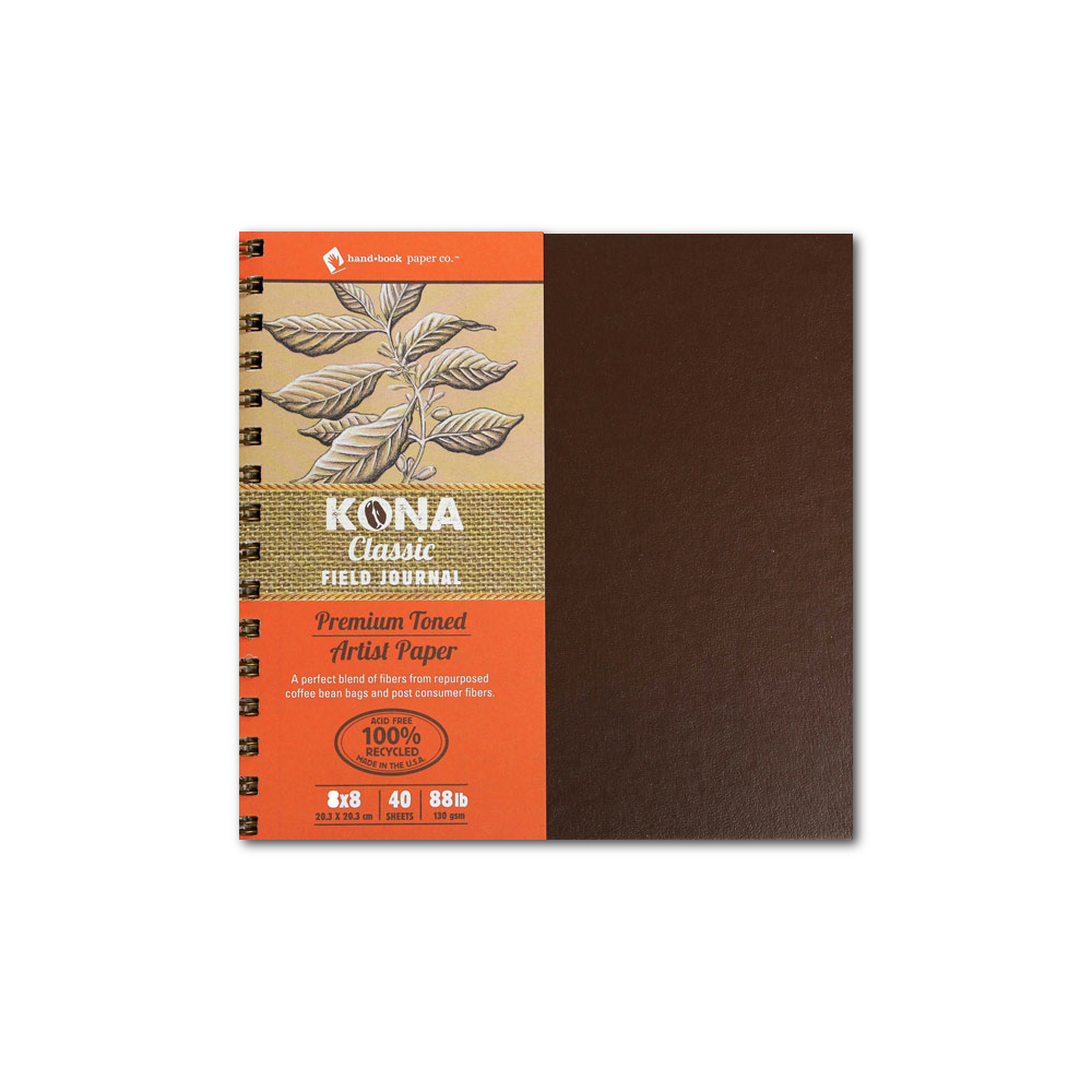 Kona Classic Field Journal 8X8