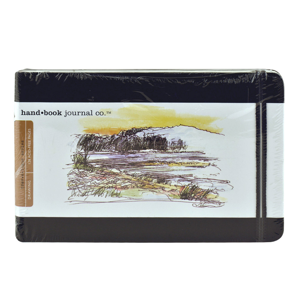Travel Series Sketch 5.5X8.5 Landscape Black