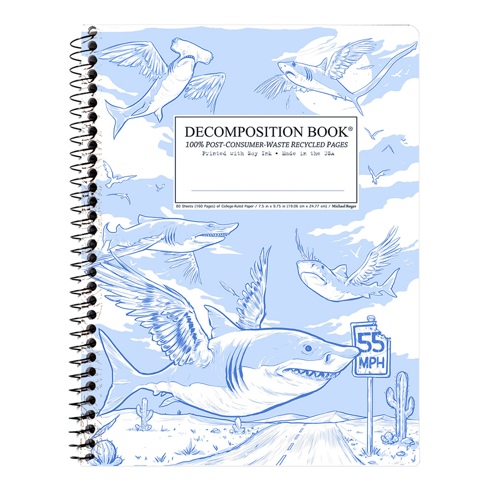 Decomposition Wire Book: Flying Sharks