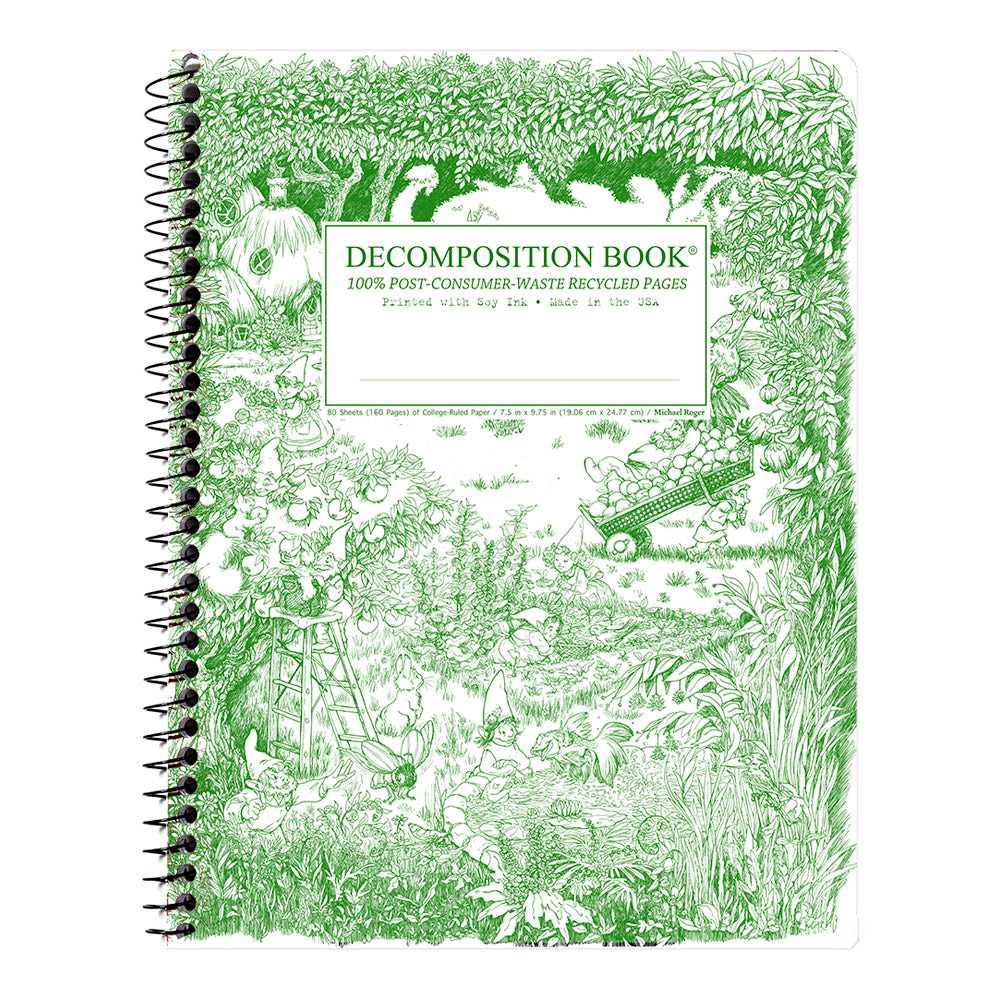 Decomposition Wire Book: Gardening Gnomes