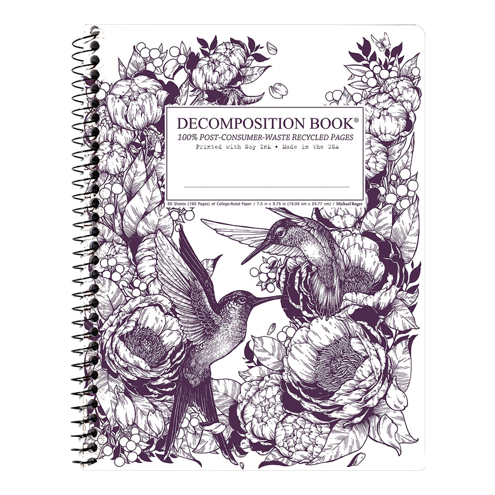 Decomposition Wire Book: Hummingbirds