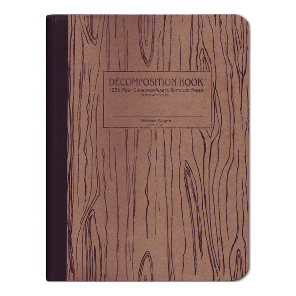 Pocket Decomposition Book: Woodgrain