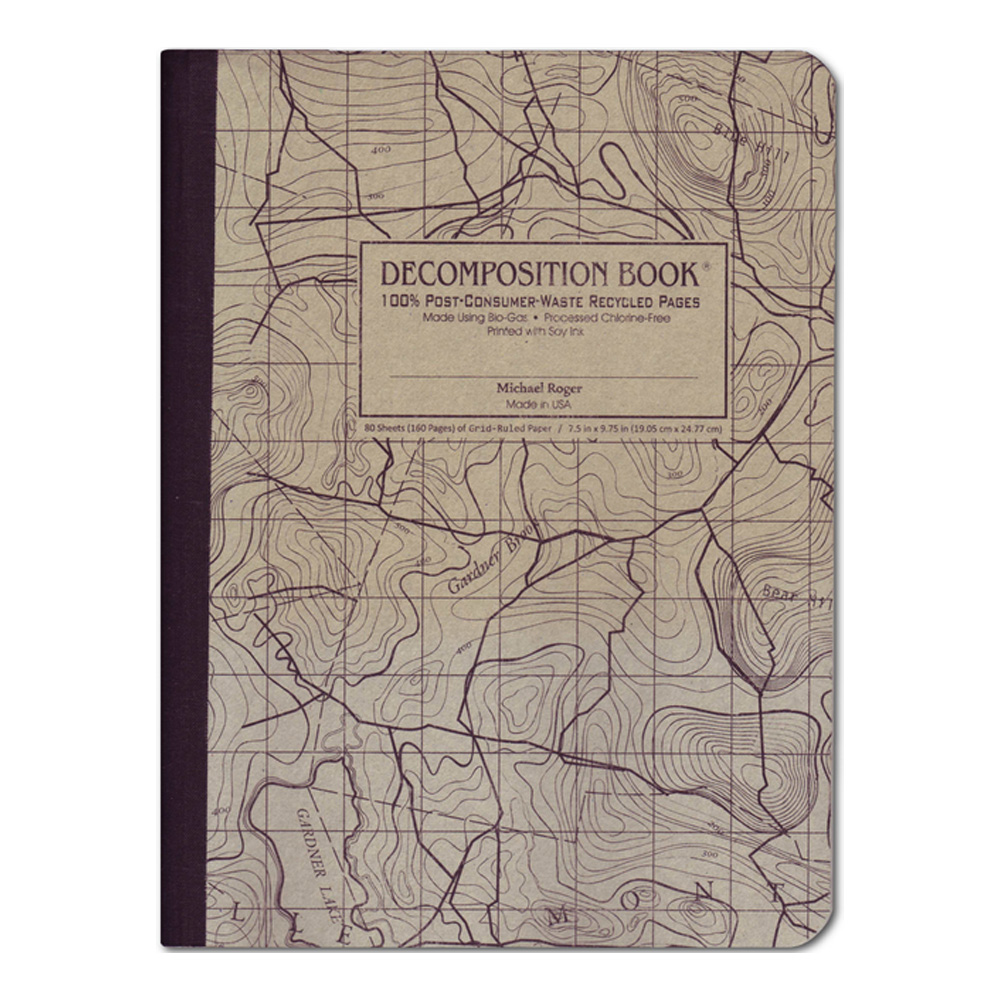 Pocket Decomposition Book: Topographical