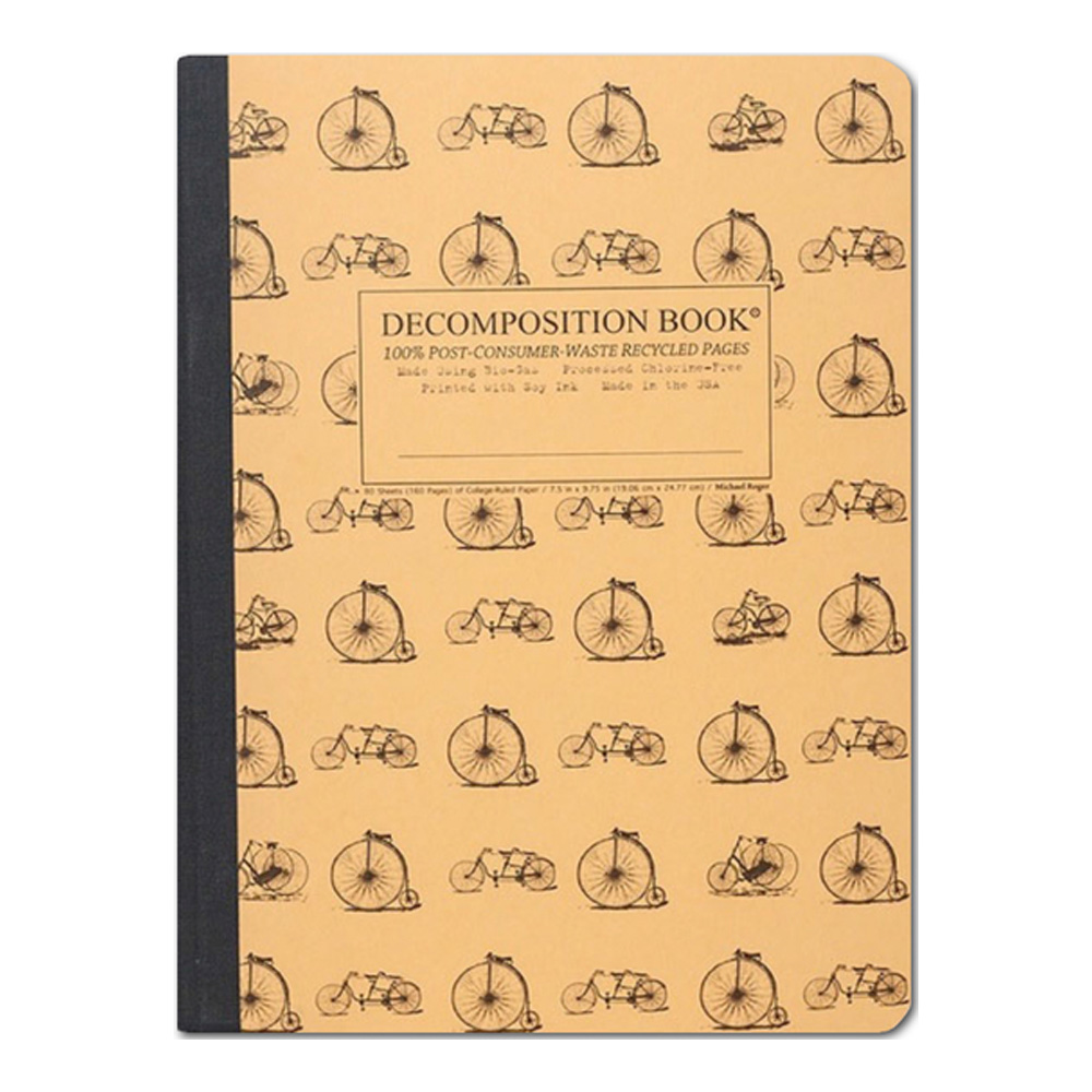 Pocket Decomposition Book: Vintage Bicycle