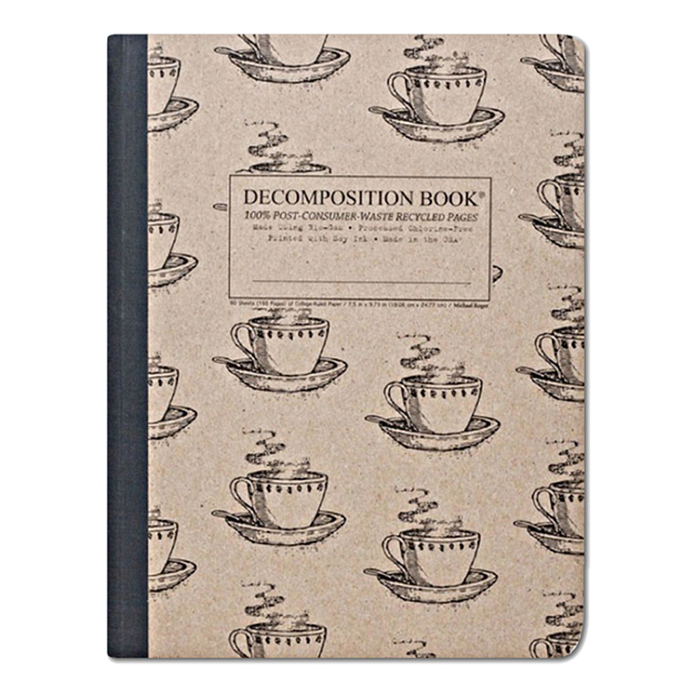 Pocket Decomposition Book: Coffee Cup
