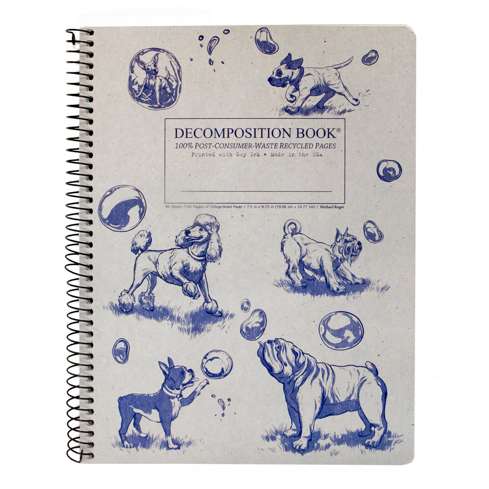 Decompositon Wire Book: Dogs And Bubbles