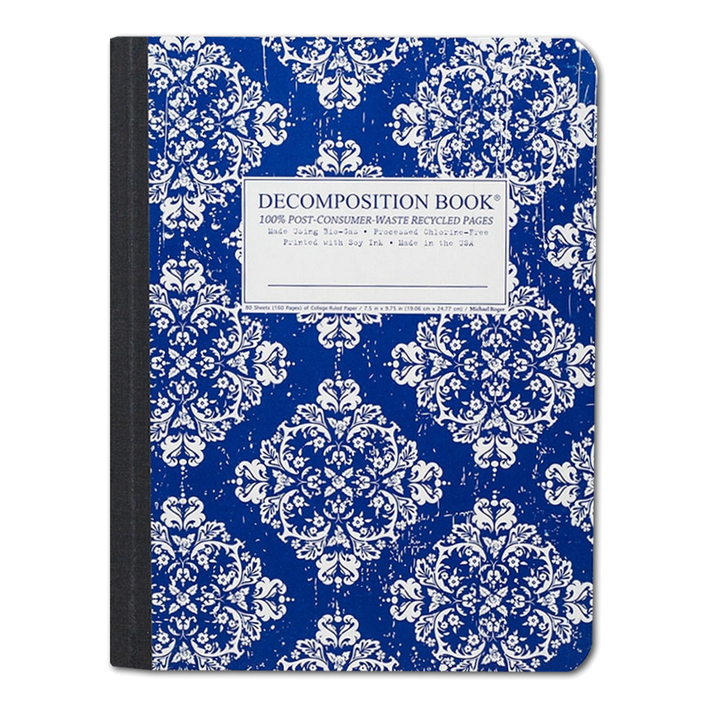 Decomposition Book: Victoria Blue