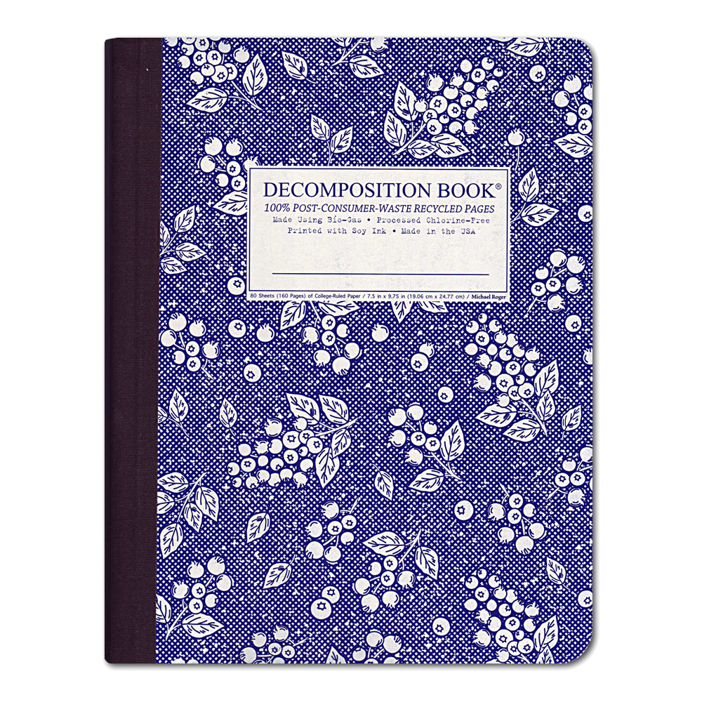 Decomposition Book: Blueberry