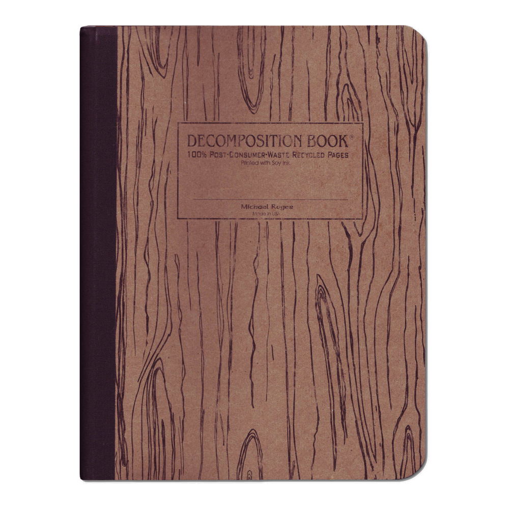 Decomposition Book: Woodgrain