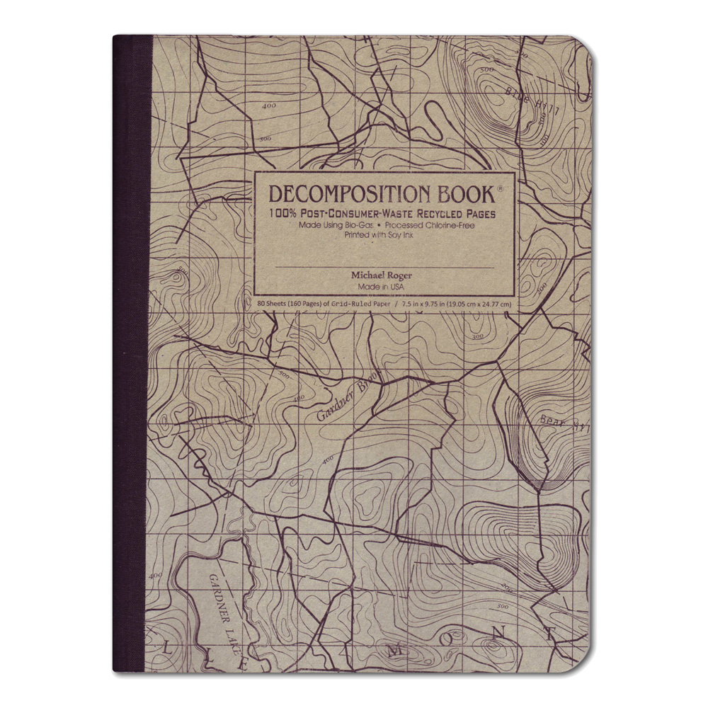 Decomposition Book: Topographic Map