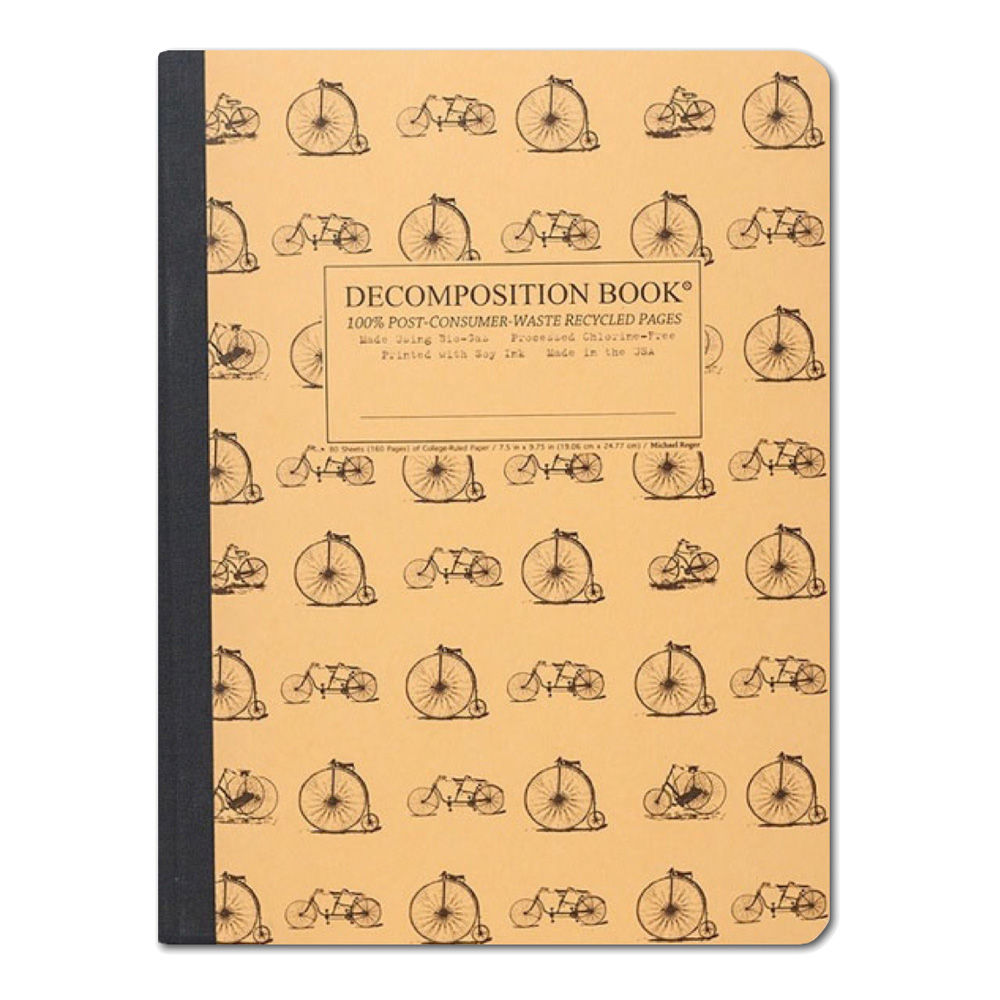 Decomposition Book: Vintage Bicycles