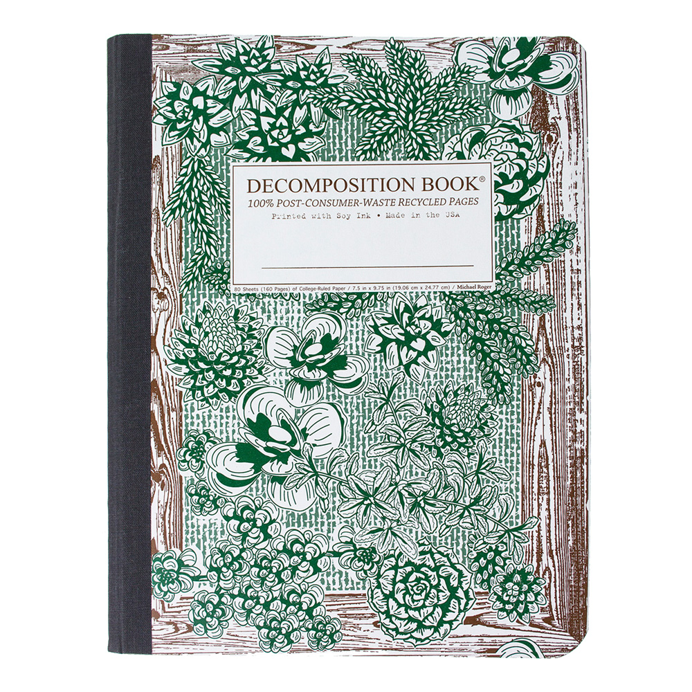 Decomposition Book: Succulent Garden