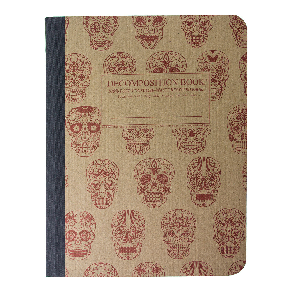 Decomposition Book: Sugar Skulls