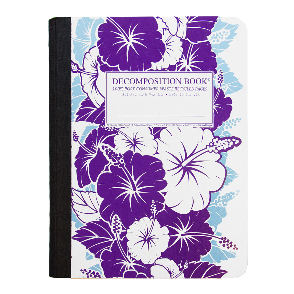 Decomposition Book: Purp Hibiscus