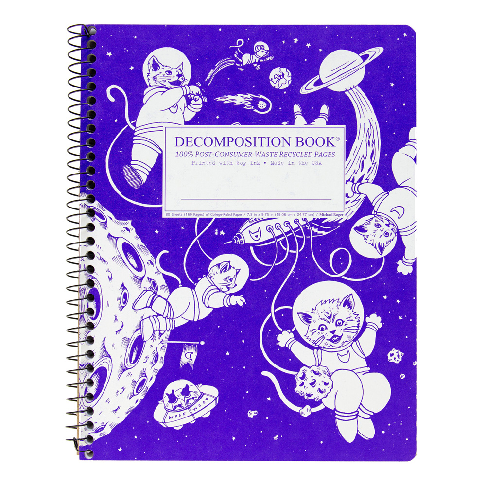 Decomposition Wire Book: Kittens In Space