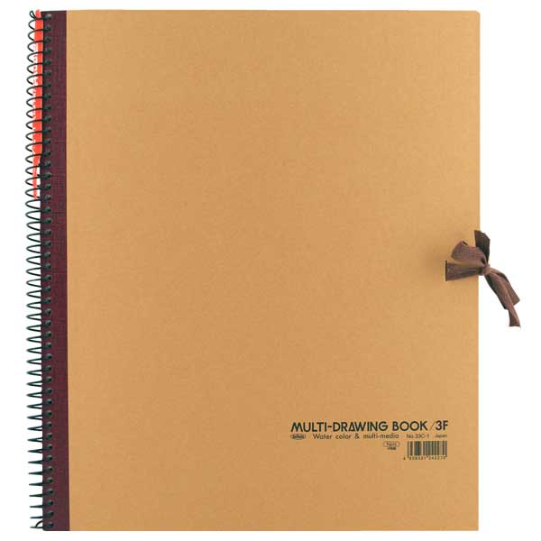 Holbein Spiral Sketch Book 10.5X8.5 Brown