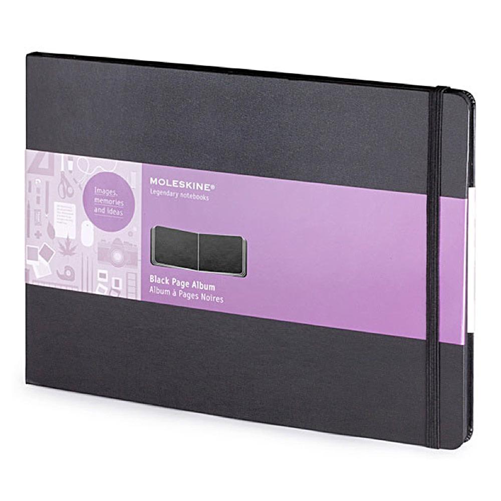 Buy Moleskine A4 Black Page Album
