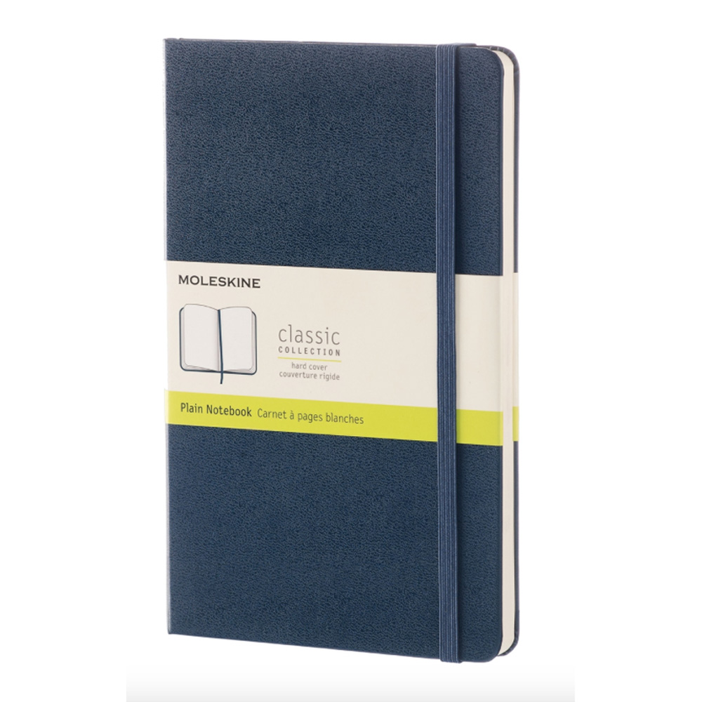 Moleskine Large Ruled Notebook Blue
