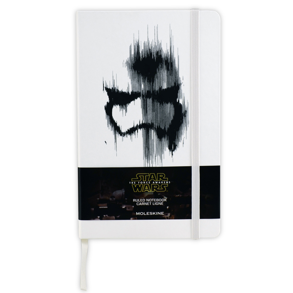 Moleskine Ruled Star Wars Stormtrooper White