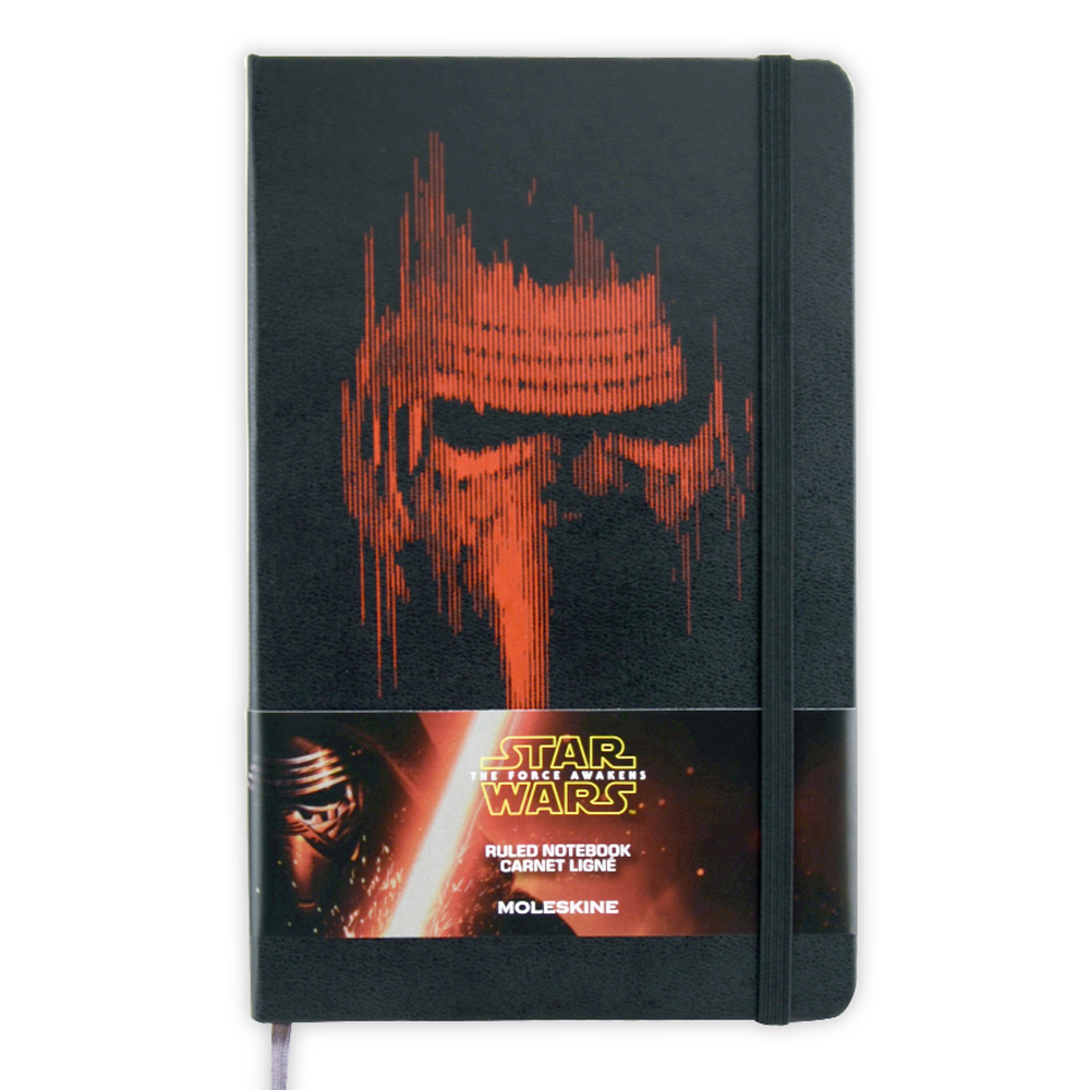 Moleskine Ruled Star Wars Villian Black