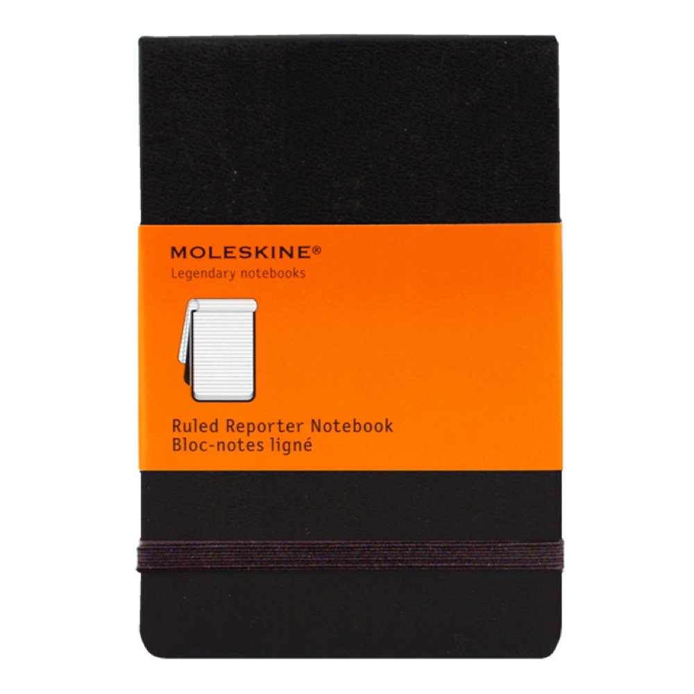 Moleskine Reporter Small Ruled Notebook