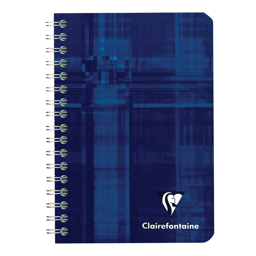 Clairefontaine Wirebound Book 3.5X5.5 Ruled
