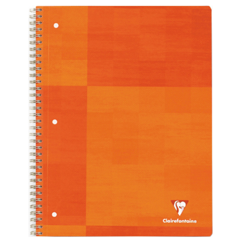 Clairefontaine Wire Book 6.5X8.25 Rule/Margin