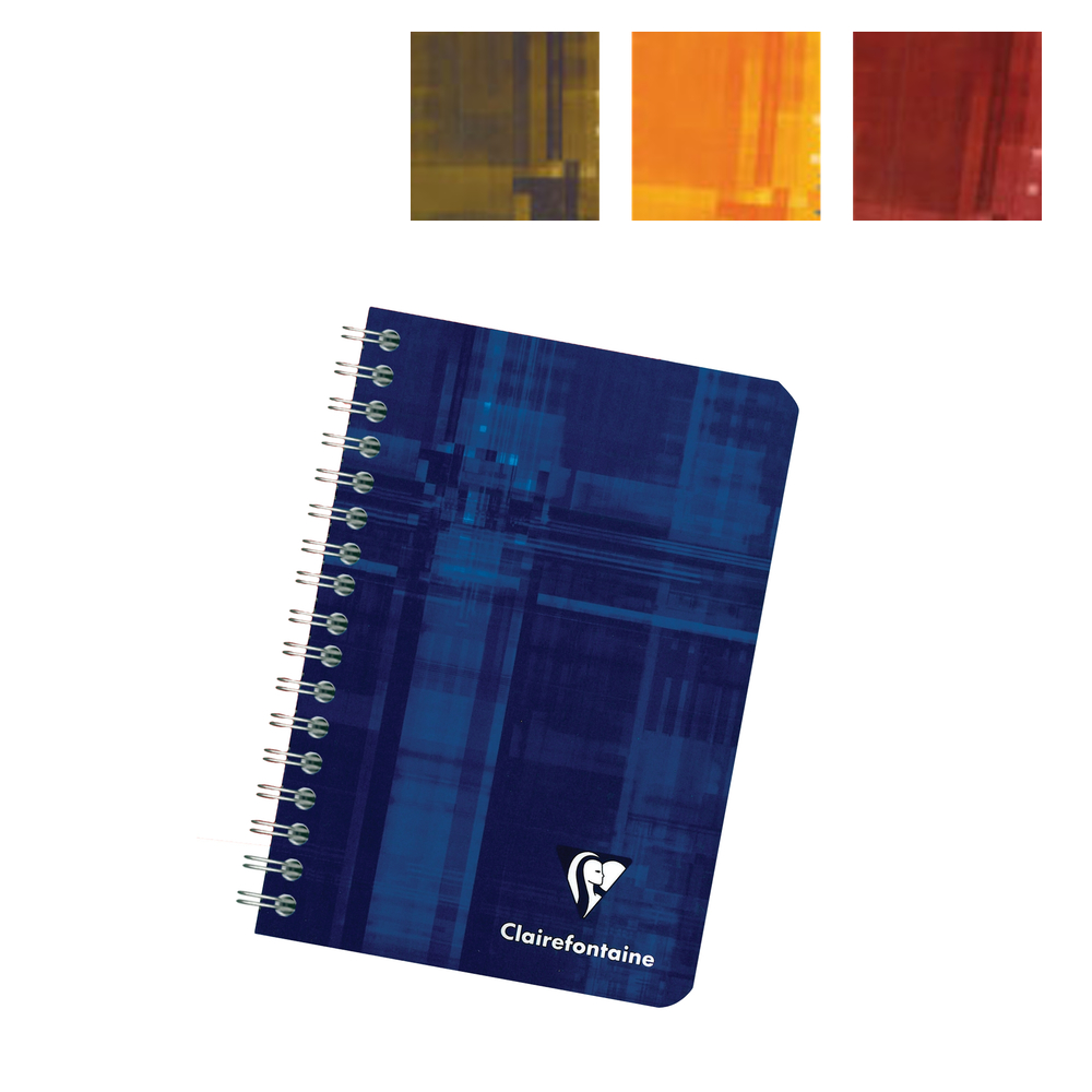 Clairefontaine Wire Bk 8.25X11.75 Rule/Margin