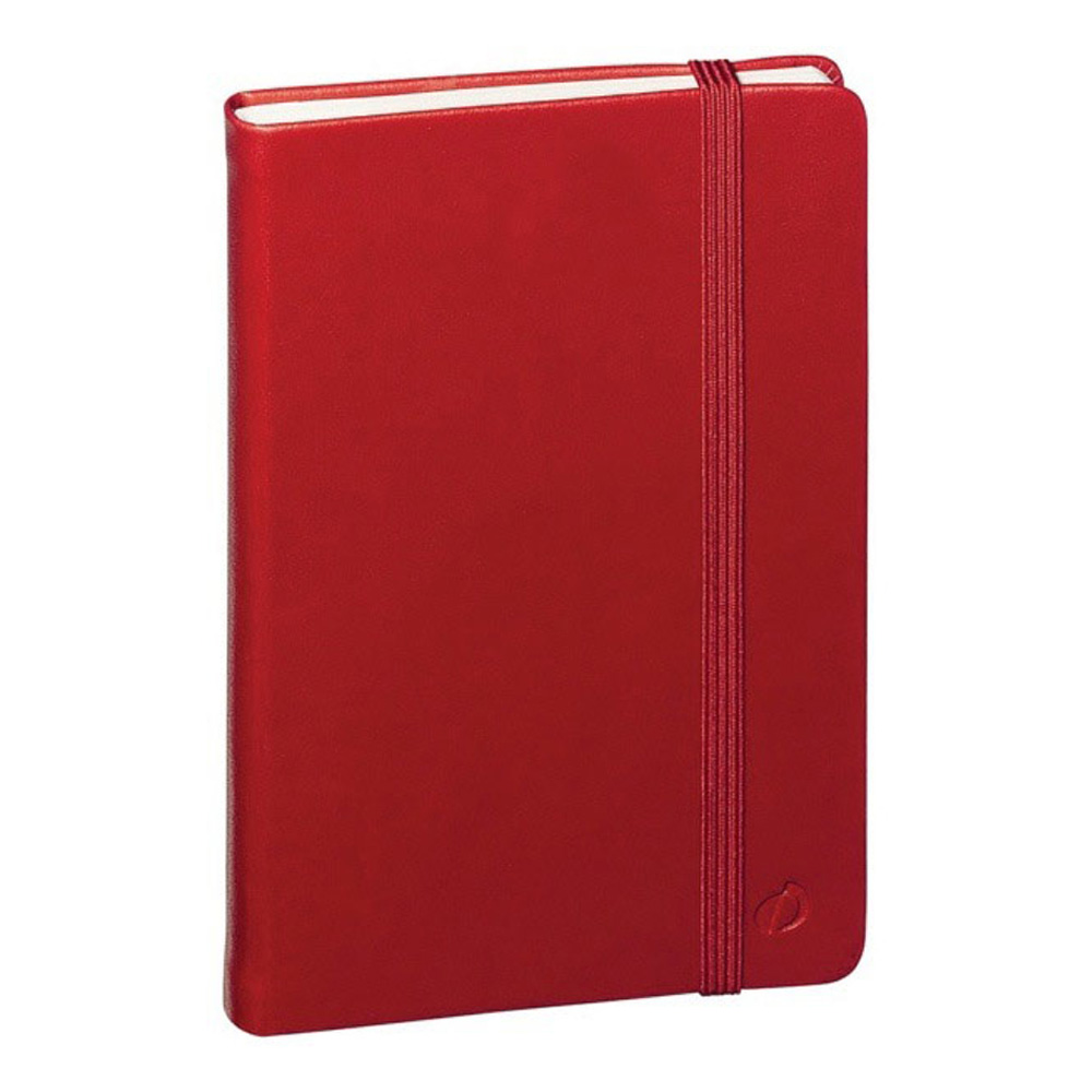 Quo Vadis Habana Blank Journal 4X6 Red