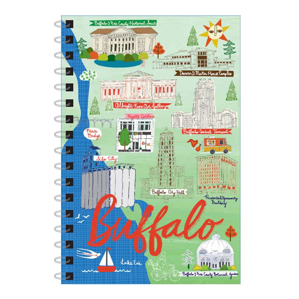 Buffalo Ny Landmark Journal 5X7