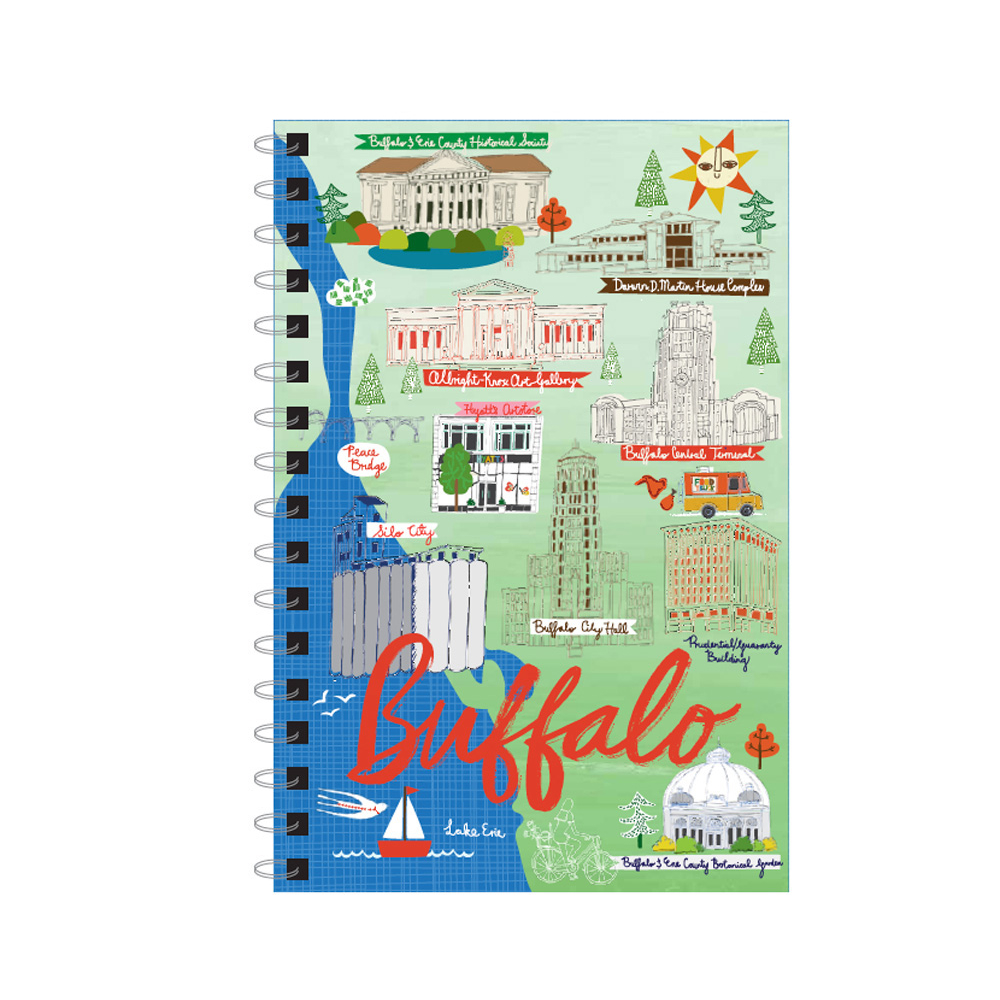 Buffalo Ny Landmark Journal 6X9