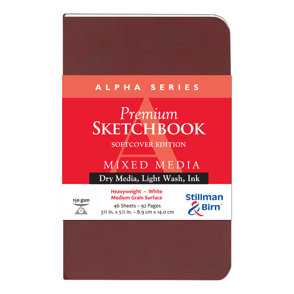 Alpha Softcover Sketchbook 3.5X5.5