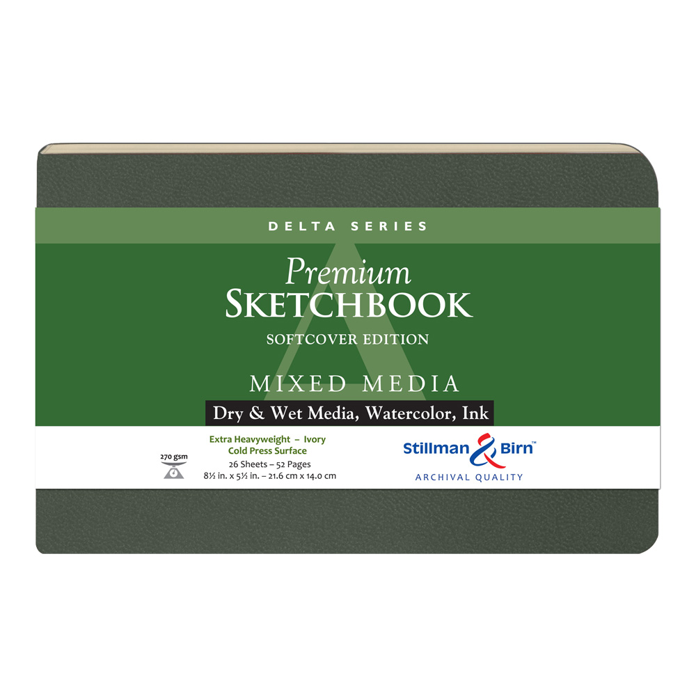 Delta Softcover Sketchbook 8.5X5.5 Ls