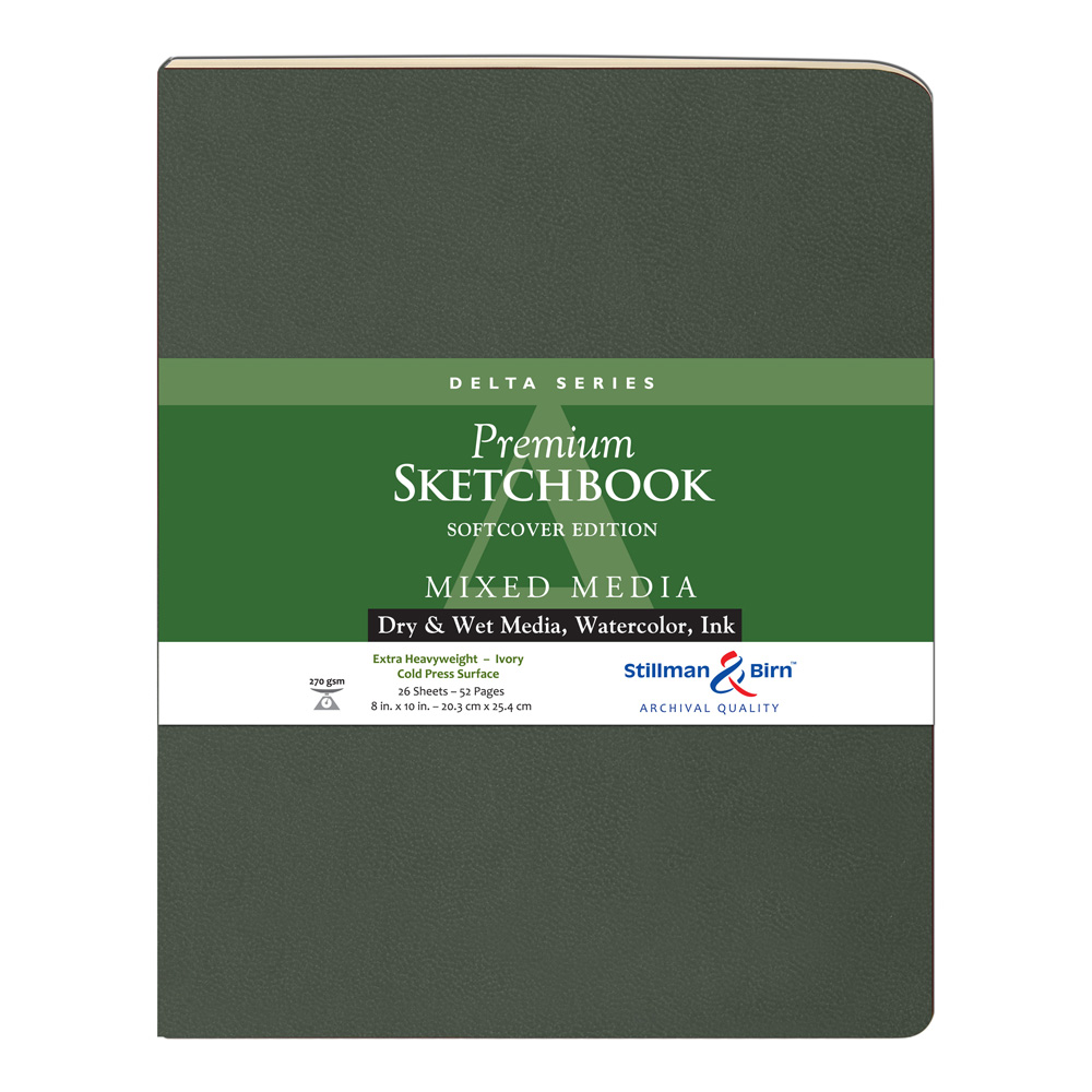 Delta Softcover Sketchbook 8X10