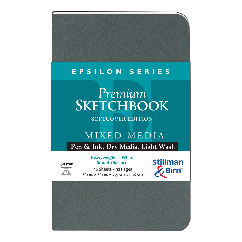 Epsilon Softcover Sketchbook 3.5X5.5