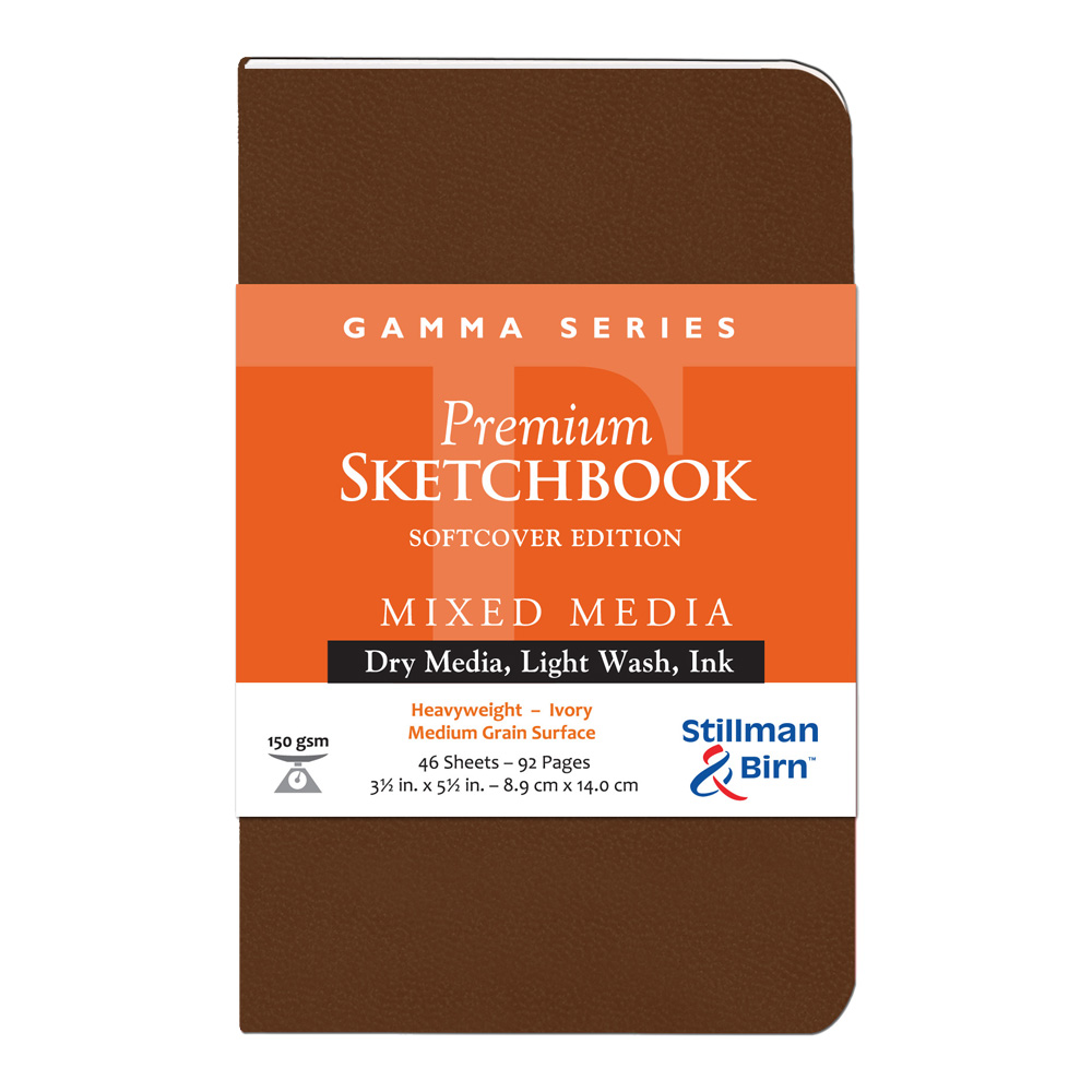 Gamma Softcover Sketchbook 3.5X5.5