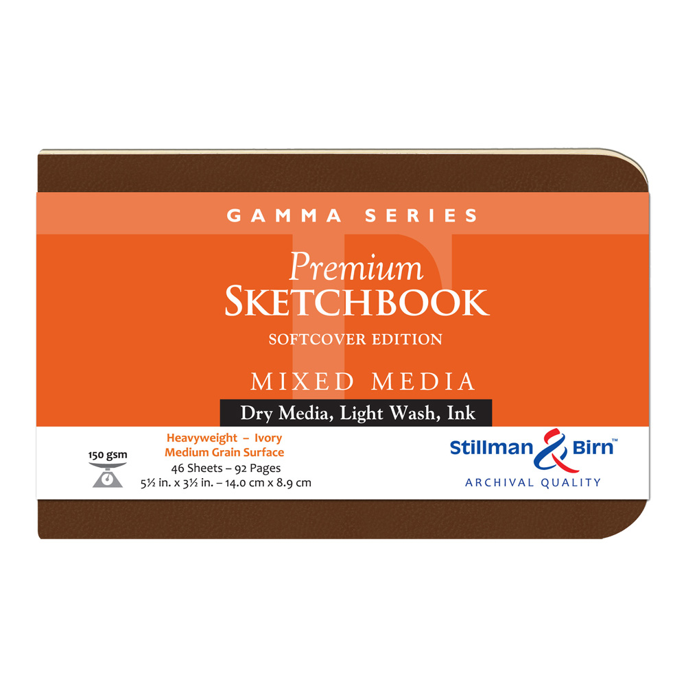 Gamma Softcover Sketchbook 5.5X3.5 Ls